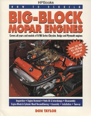 How to Rebuild Big-Block Mopar Engines By Taylor, Don